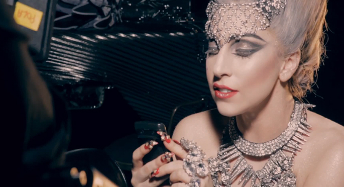 Lady Gaga y sus joyas